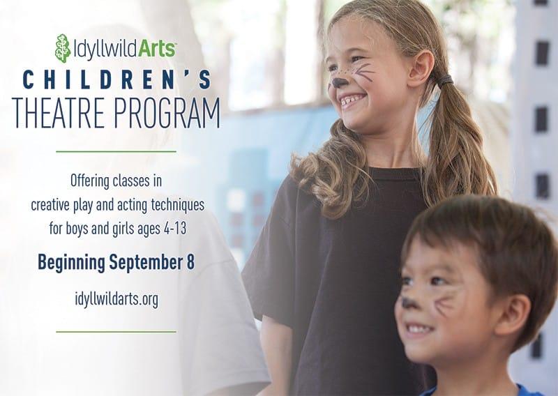 Children\'s Theatre Program | Idyllwild Arts