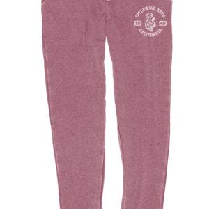 Jogger Pants Burnout Wash Fleece