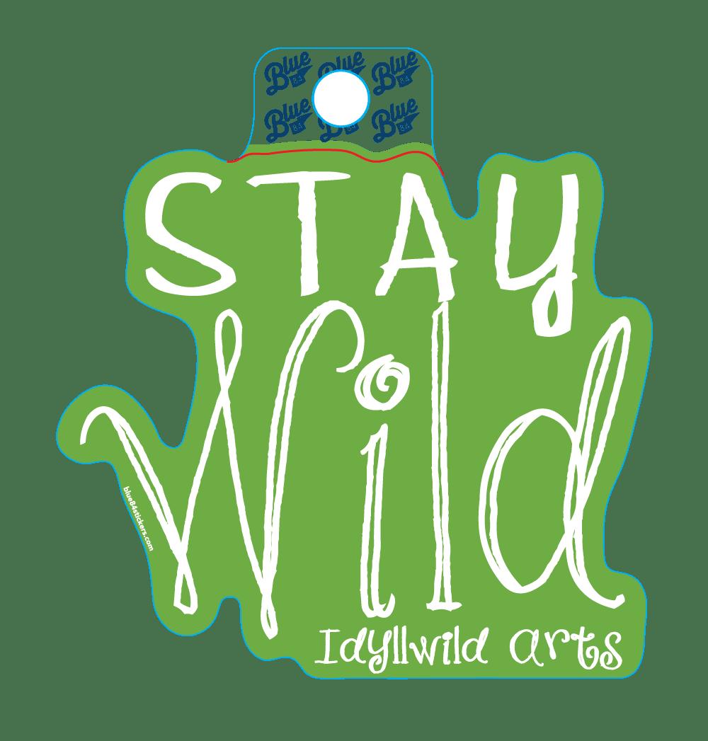STICKER Stay Wild